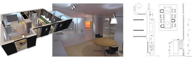 Lightendesign lichtplan 3D